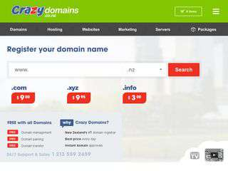 Crazydomains.co.nz - Crazydomains.co.nz