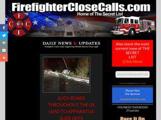 firefighterclosecalls.com - firefighterclosecalls.com