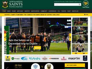 northamptonsaints.co.uk - northamptonsaints.co.uk