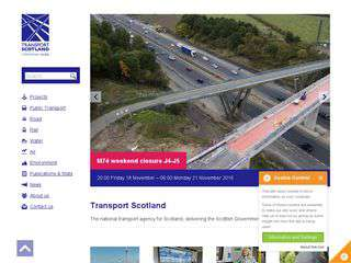 transportscotland.gov.uk - transportscotland.gov.uk